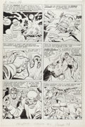Original Comic Art:Panel Pages, Jack Kirby and Joe Simon The Double Life of Private Strong#1 Story Page 7 Original Art (Archie, 1959)....