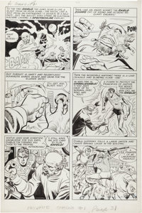 Jack Kirby and Joe Simon The Double Life of Private Strong #1 Story Page 7 Original Art (Archie, 1959)