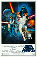 """Movie Posters:Science Fiction, Star Wars (20th Century Fox, 1977). One Sheet (27"""" X 41"""") Style C....."""