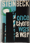 Books:Literature 1900-up, John Steinbeck. Once There Was a War. Heinemann, 1959. Proof copy. Publisher's printed green wrappers with i...