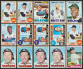 Basketball Cards:Lots, 1965 Through 1969 Topps Baseball Collection (490) With 11 Mantle, 2Ryan Rookies and Many Stars ....