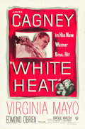 "Movie Posters:Film Noir, White Heat (Warner Brothers, 1949). One Sheet (27"" X 41"").. ..."
