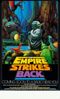 """Movie Posters:Science Fiction, The Empire Strikes Back (20th Century Fox, 1982). NPR Radio PromoPoster (17"""" X 28"""").. ..."""