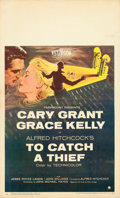 """Movie Posters:Hitchcock, To Catch a Thief (Paramount, 1955). Window Card (14"""" X 22"""").. ..."""