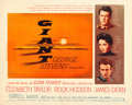 "Movie Posters:Drama, Giant (Warner Brothers, 1956). Half Sheet (22"" X 28"").. ..."