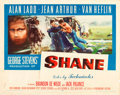 "Movie Posters:Western, Shane (Paramount, 1953). Half Sheet (22"" X 28"") Style A.. ..."