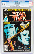 Modern Age (1980-Present):Science Fiction, Star Trek #1 (Marvel, 1980) CGC NM+ 9.6 Off-white to whitepages....