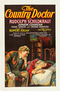 "Movie Posters:Drama, The Country Doctor (Pathé, 1927). One Sheet (27"" X 41"") Style A.. ..."