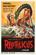 "Movie Posters:Science Fiction, Reptilicus (American International, 1961). One Sheet (27"" X 41"")....."