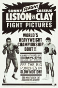 "Movie Posters:Sports, Liston vs. Clay (20th Century Fox, 1964). One Sheet (27"" X 41"").. ..."