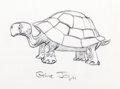 Animation Art:Production Drawing, The White Seal Chuck Jones Signed Turtle Production Drawing(Chuck Jones, 1973)....