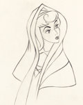 Animation Art:Production Drawing, Sleeping Beauty Production Drawing (Walt Disney, 1959)....