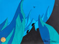 Animation Art:Production Cel, Horton Hears A Who Production Cel With Hand-PaintedBackground (Chuck Jones, 1970)....