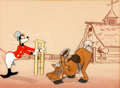 "Animation Art:Production Cel, The Reluctant Dragon ""How to Ride a Horse"" Goofy ProductionCel (Walt Disney, 1941)...."
