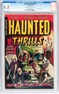 Golden Age (1938-1955):Horror, Haunted Thrills #5 (Farrell, 1953) CGC FN+ 6.5 Off-white to whitepages....