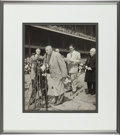 Autographs:Photos, 1947 Babe Ruth Signed Photograph to Famed Photographer Nat Fein....
