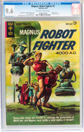 Silver Age (1956-1969):Science Fiction, Magnus Robot Fighter #2 (Gold Key, 1963) CGC NM+ 9.6 Off-white towhite pages....