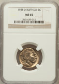Buffalo Nickels: , 1938-D 5C MS65 NGC. NGC Census: (6455/21426). PCGS Population(22862/29552). Mintage: 7,020,000. Numismedia Wsl. Price for ...