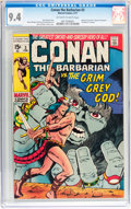 Bronze Age (1970-1979):Adventure, Conan the Barbarian #3 (Marvel, 1971) CGC NM 9.4 Off-white to white pages....