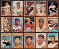 Baseball Cards:Lots, 1962 Topps Baseball Mainly Stars & HoFers Collection (66). ...