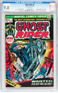 Bronze Age (1970-1979):Horror, Ghost Rider #1 (Marvel, 1973) CGC VF/NM 9.0 Off-white pages....