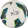 Miscellaneous Collectibles:General, Hope Solo Signed Soccer Ball and Jersey. ...