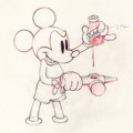 Animation Art:Production Drawing, Society Dog Show Mickey Mouse Production Drawing (WaltDisney, 1939)....