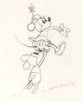 Animation Art:Production Drawing, Mickey's Rival Mickey and Minnie Mouse Production Drawing(Walt Disney, 1936)....