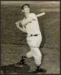 """Baseball Collectibles:Photos, Ted Williams """"To Virginia With Love"""" Signed Original Vintage Photograph...."""