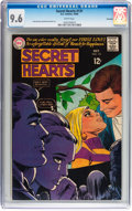 Silver Age (1956-1969):Romance, Secret Hearts #131 Savannah pedigree (DC, 1968) CGC NM+ 9.6 Whitepages....