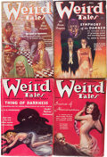 Pulps:Horror, Weird Tales Group (Popular Fiction, 1937-38) Condition: AverageVG.... (Total: 12 Items)