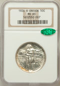 Commemorative Silver: , 1926-S 50C Oregon MS65 NGC. CAC. NGC Census: (922/803). PCGSPopulation (971/500). Mintage: 83,055. Numismedia Wsl. Price f...