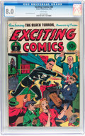 Golden Age (1938-1955):Superhero, Exciting Comics #48 (Nedor/Better/Standard, 1946) CGC VF 8.0 White pages....