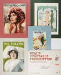 Books:Prints & Leaves, [Costume and Fashion]. Group of 18 Prints, Most in Color. Ca. 19thand Early 20th Century. Some matted. Very good....