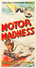 "Movie Posters:Action, Motor Madness (Columbia, 1937). Three Sheet (41.5"" X 78.5"").. ..."