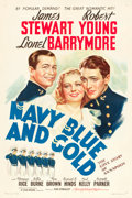 """Movie Posters:Drama, Navy Blue and Gold (MGM, 1937). One Sheet (27"""" X 41"""").. ..."""