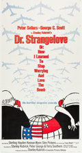"""Movie Posters:Comedy, Dr. Strangelove or: How I Learned to Stop Worrying and Love theBomb (Columbia, 1964). Three Sheet (41.5"""" X 78"""").. ..."""
