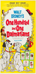 "Movie Posters:Animation, 101 Dalmatians (Buena Vista, 1961). Three Sheet (41"" X 84"").. ..."