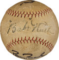 Autographs:Baseballs, Single Season Home Run Record Holders Multi-Signed Baseball....