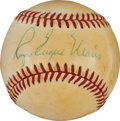 Autographs:Baseballs, 1970's Roger Eugene Maris Single Signed Baseball....
