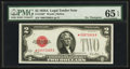 Small Size:Legal Tender Notes, Fr. 1502* $2 1928A Legal Tender Note. PMG Gem Uncirculated 65 EPQ.. ...