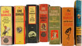 Big Little Book:Miscellaneous, Big Little Books: Lone Ranger Group (Whitman, 1935-50) Condition:Average VG.... (Total: 7 Items)