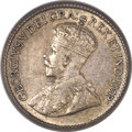 Canada: George V 5 Cents 1921