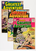 Silver Age (1956-1969):Adventure, My Greatest Adventure Group (DC, 1956-64) Condition: Average GD/VG.... (Total: 9 Comic Books)