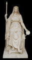 IMPORTANT PLASTER MODEL OF THE EMPRESS MARIE-LOUISE EN CONCORDE BY ANTONIO CANOVA (Italian, 1757-1822) 84 x 56 x 44 inch...