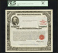 Serial Number 3 $100,000 United States Treasury Bond Due August 15, 1963 PCGS Choice New 63