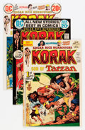 Bronze Age (1970-1979):Miscellaneous, Korak, Son of Tarzan #46-57 Group - Savannah pedigree (DC, 1972-75)Condition: Average NM-.... (Total: 12 Comic Books)