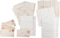 Miscellaneous:Ephemera, [Maximilian Affair]. Archive of Letters from Frank Ashley... (Total: 23 Items)