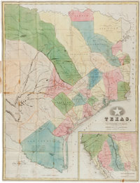 [Map]. Richard S. Hunt and Jesse F. Randel. Guide to the Republic of Texas: Consisting of a Brief Outline of th
