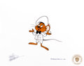 Animation Art:Production Cel, Daffy Duck's Fantastic Island Speedy Gonzales Production Cel(Warner Brothers, 1983)....